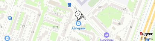 Банкомат, Нурбанк на карте Усть-Каменогорска