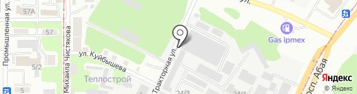 Эйкос, ТОО на карте Усть-Каменогорска
