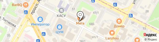 Мастерская по ремонту обуви на карте Усть-Каменогорска