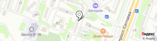 PolisStom на карте Усть-Каменогорска