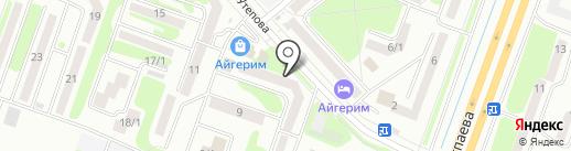 Почтовое отделение №16 на карте Усть-Каменогорска