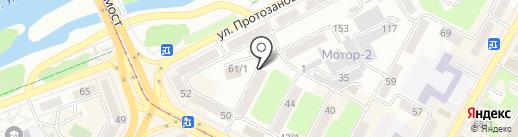 Нұр-шапагат на карте Усть-Каменогорска