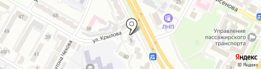 Вояж на карте Усть-Каменогорска