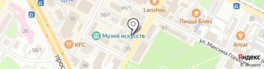 Hair Studio AVA на карте Усть-Каменогорска