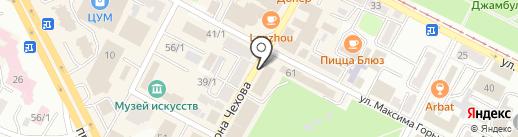 Marwin Baby на карте Усть-Каменогорска