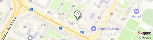 Алиса на карте Усть-Каменогорска