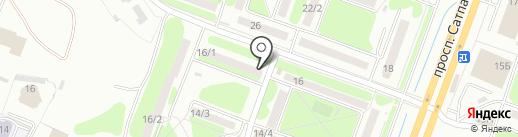 Магазин одежды на карте Усть-Каменогорска