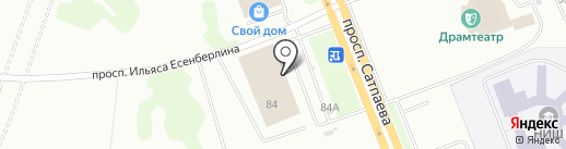 FourBROTHERS на карте Усть-Каменогорска