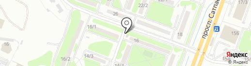 Pekarina на карте Усть-Каменогорска