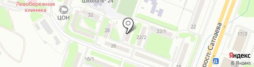 Тревога Системс Securety, ТОО на карте Усть-Каменогорска