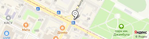 Ломбард Золотой Слон, ТОО на карте Усть-Каменогорска