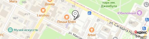 Alageum Electric на карте Усть-Каменогорска