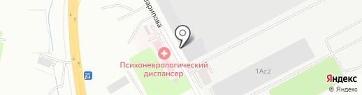 Авторазбор на КШТ на карте Усть-Каменогорска