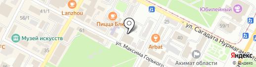 Alfa Delivery Services, ТОО на карте Усть-Каменогорска