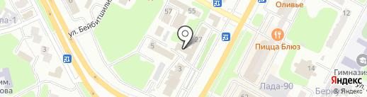 Нотариус Бельцова Е.Ю. на карте Усть-Каменогорска