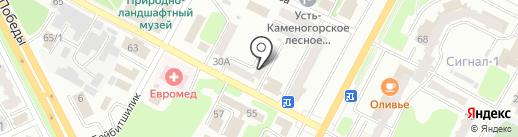 МОДУЛЬ на карте Усть-Каменогорска