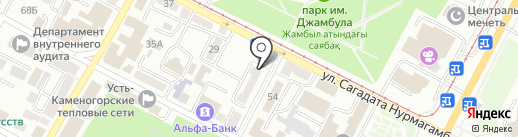 М`Арт Studio на карте Усть-Каменогорска