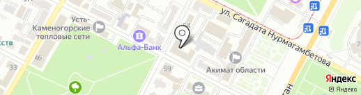AutoLegion на карте Усть-Каменогорска
