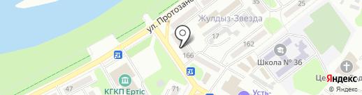 АвтоПрофи на карте Усть-Каменогорска