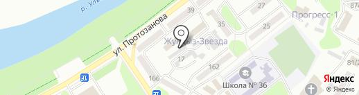 Институт Казградпроект, ТОО на карте Усть-Каменогорска