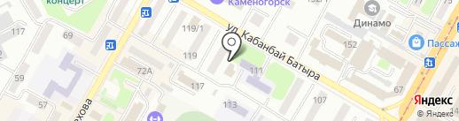 БелогорСтрой, ТОО на карте Усть-Каменогорска
