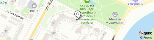 PONY EXPRESS на карте Усть-Каменогорска