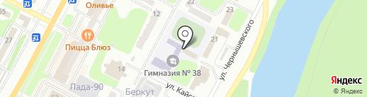 Орган опеки и попечительства на карте Усть-Каменогорска