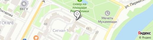Азия Life на карте Усть-Каменогорска