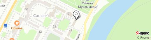 Департамент государственных доходов по Восточно-Казахстанской области на карте Усть-Каменогорска