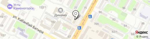 IT Co, ТОО на карте Усть-Каменогорска