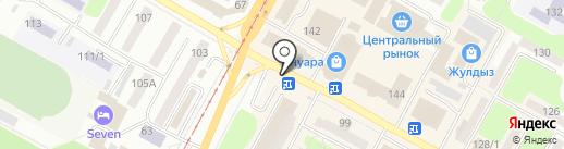 Азалия на карте Усть-Каменогорска