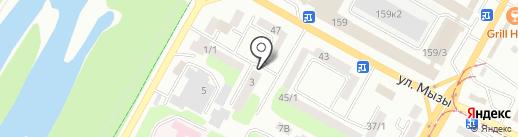 Айрон-Техник, ТОО на карте Усть-Каменогорска
