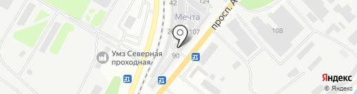 Мастер`ОК на карте Усть-Каменогорска
