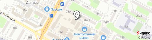 Fantasy на карте Усть-Каменогорска