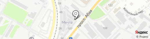 У-К строй холод на карте Усть-Каменогорска