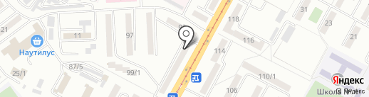Нотариус Бекенаева Г.Ж. на карте Усть-Каменогорска