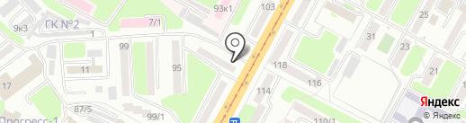 Адвокатский кабинет Шерубаев Р.А. на карте Усть-Каменогорска