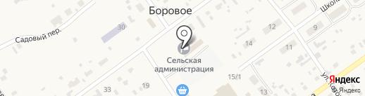 Многопрофильный магазин на карте Борового