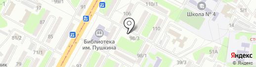 Nail Bar LUCKY на карте Усть-Каменогорска