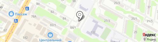 Schneider Technology, ТОО на карте Усть-Каменогорска
