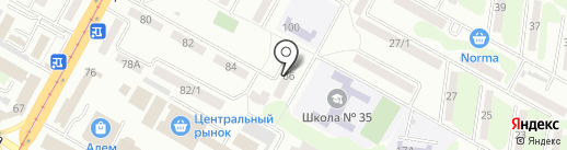 КВАРТАЛ на карте Усть-Каменогорска
