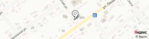 Магазин хозяйственных товаров на ул. Ленина на карте Борового
