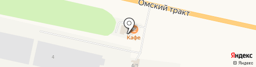 Ордынский райтоп, ЗАО на карте Оби