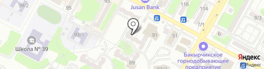 Комфорт на карте Усть-Каменогорска
