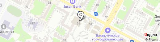Катон-карагайский олений парк на карте Усть-Каменогорска