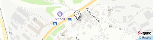 Баракат темир, ТОО на карте Усть-Каменогорска