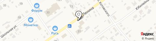Продуктовый магазин на карте Борового