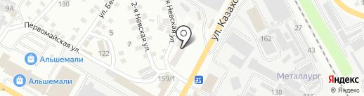 Участковый пункт полиции №3 на карте Усть-Каменогорска