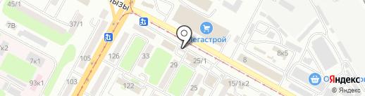 Хозстрой на карте Усть-Каменогорска