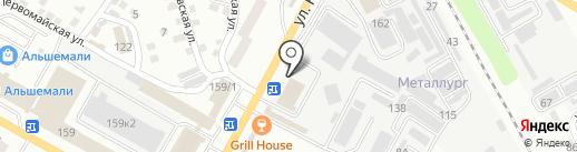 Торговая компания на карте Усть-Каменогорска